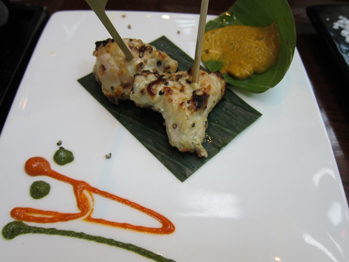 Amaya restaurant review 2012 august london indian for Amaya indian cuisine menu