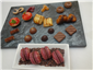 a range of petit fours