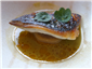 mackerel with kombu braised daikon