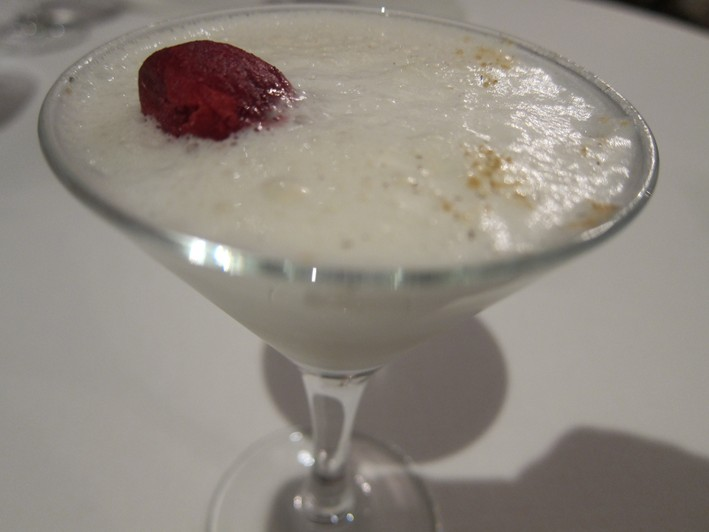vodka and almond cocktail