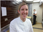 head chef Clare Smyth in 2015