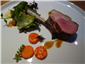 salt marsh lamb with salad