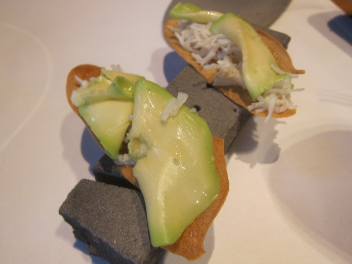 crab and avocado