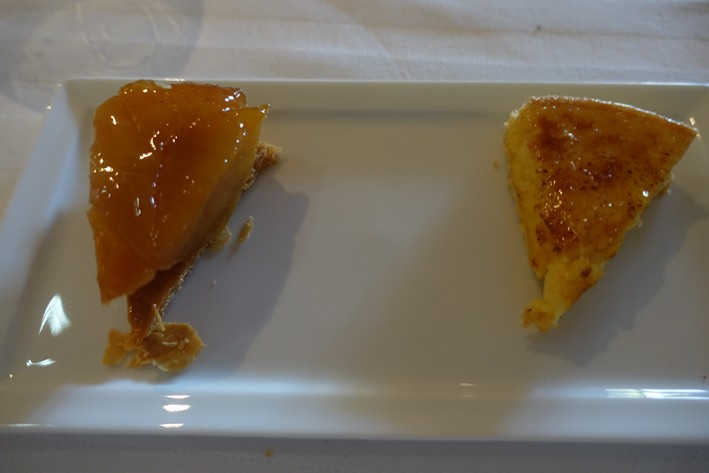 tatin and lemon tart