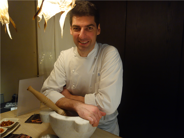 chef Massimiliano Alajmo