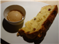classic panettone with marsala sorbet