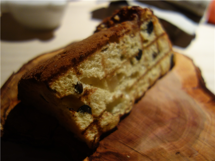 grilled panettone