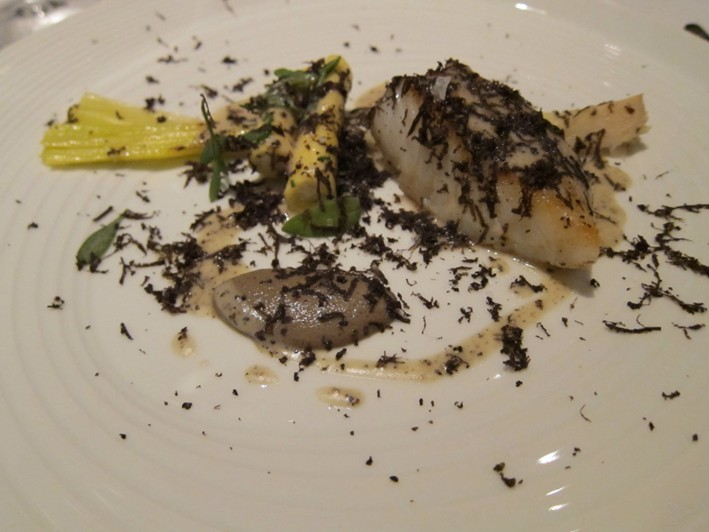 cod and truffle