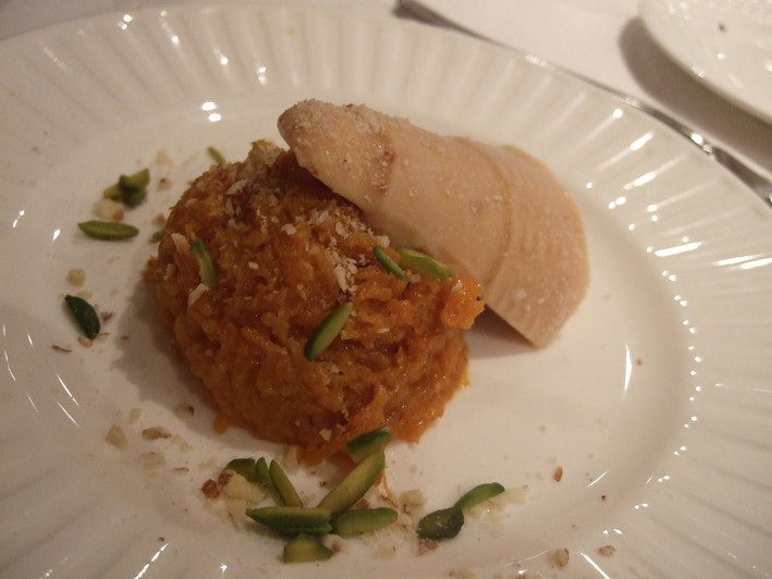 halwa and kulfi