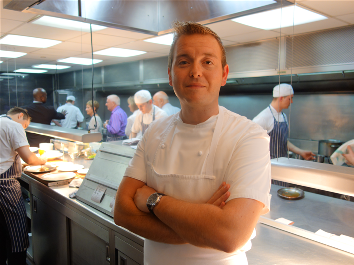 head chef Tristan Farmer
