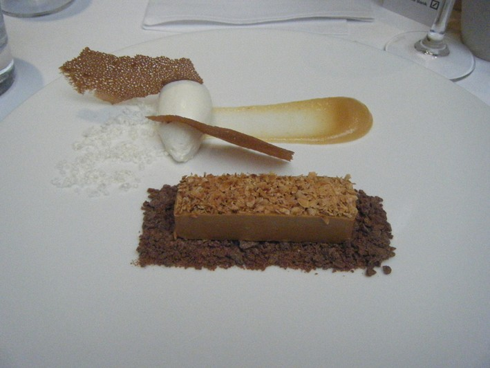 hazelnut mousse