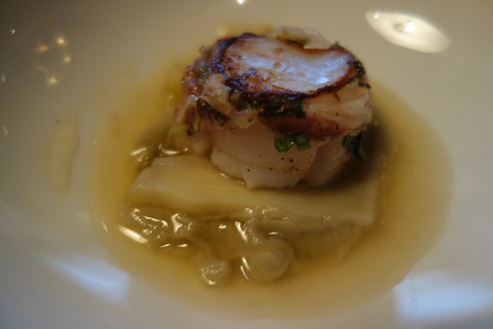 roast scallop