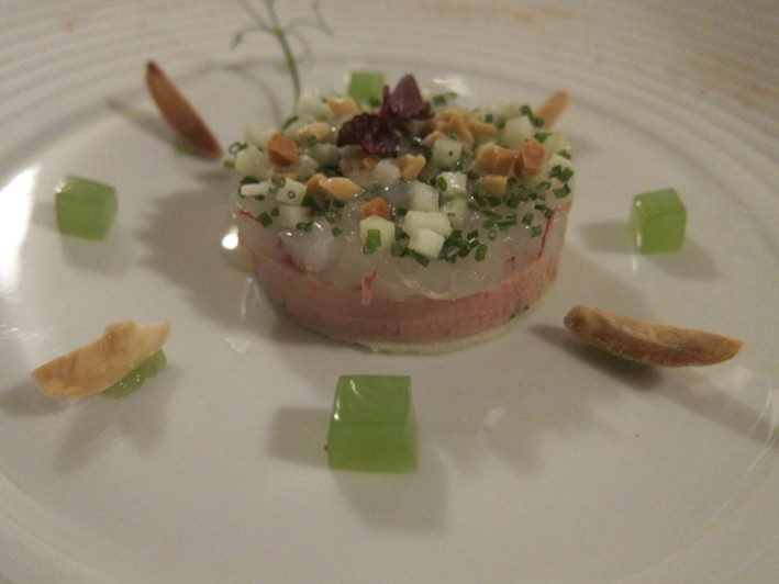 langoustine and terrine