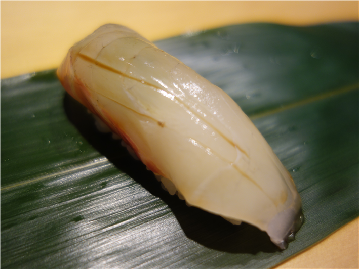 sea bream sushi
