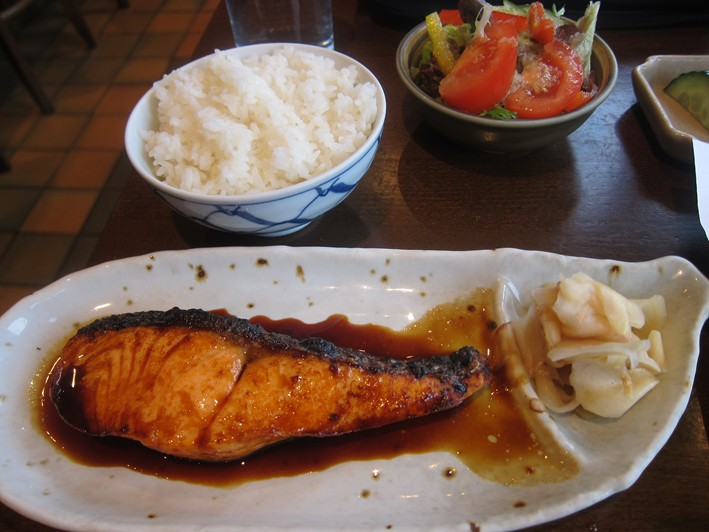 salmon teriyaki 2
